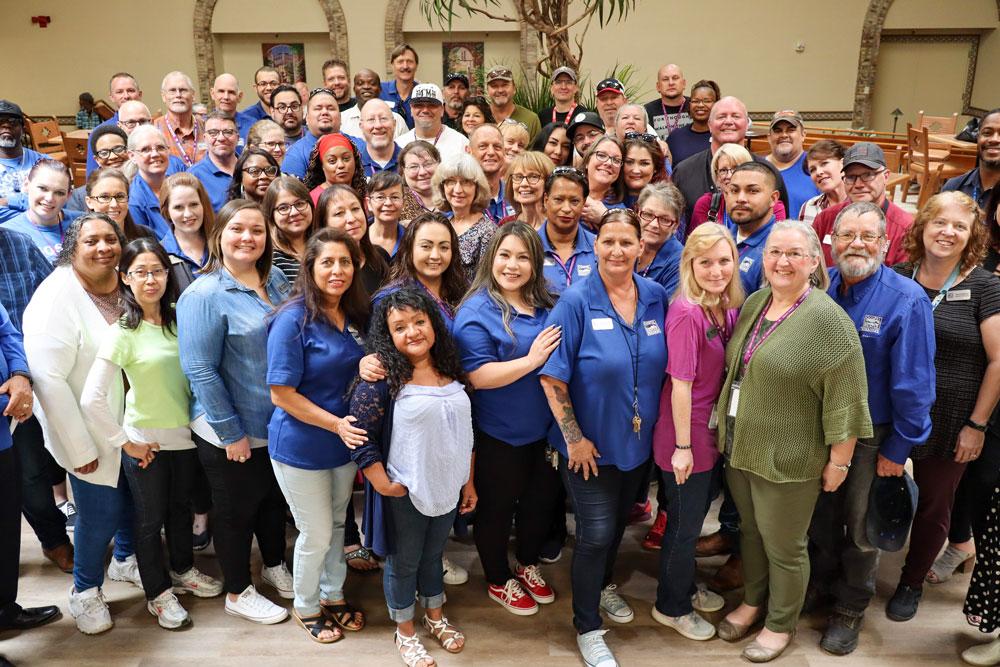 Gospel Rescue Mission's team